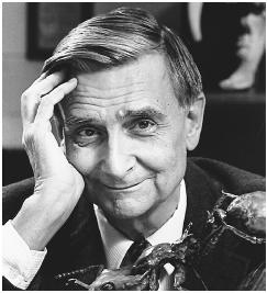 Edward O. Wilson Jr. (Photograph by John Chase/Harvard. Reproduced by permission.)