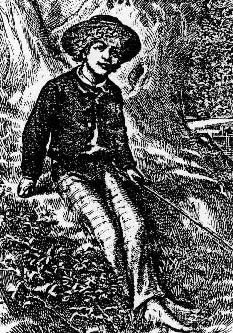 True Williams frontispiece for first edition of Tom Sawyer, 1876.